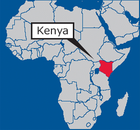 wilder kenya map